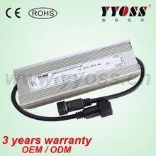 smaller size 200w / 12~54vdc waterproof led driver (3 years warranty)
