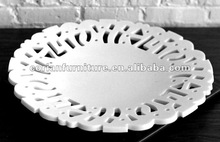 New design Corian art work friut dish HF-807