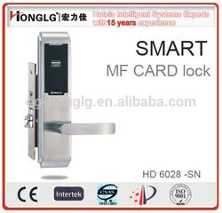 HD6028 smart card hotel lock,network electronic door lock