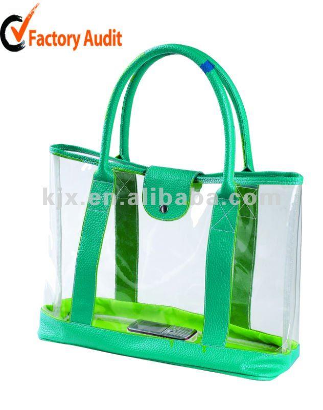 High quality clear pvc vanity bag