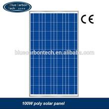 high efficiency polycrystalline silicon SOLAR PANEL100W