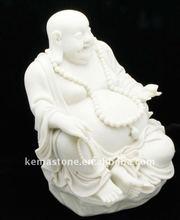 White Marble Buddha Statues