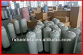 FRP pressure tank using resin, quartz sand or active carbon