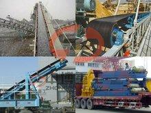 rubber belt conveyor mining machine