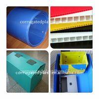 PP Folded Plastic Corrugated Tote Box