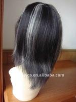 old lady grey hair wigs