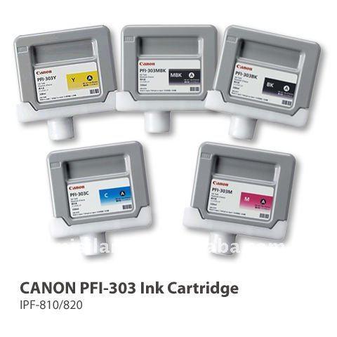 compatible CANON PFI-303 original ink cartridge for iPF 810/820/815/825wide/format inkjet printer