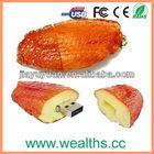 Custom Chicken Wing USB Flash Memory 2.0