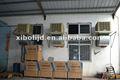 Comercial del conducto enfriador de aire evaporativo, por evaporación de aire de refrigeración, enfriador de aire industrial