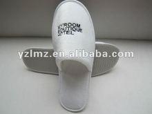 2012 new design promotion indoor hotel slipper