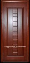 Hot sale waterproof veneer skin wpc wood doors