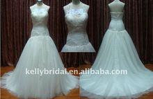 Princess Style, Nice Tulle, Stylish Mermaid bridal wedding gown
