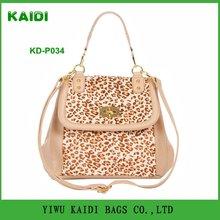 KD-P034 2012 classic and fashion lady leopard handbag