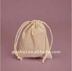 plain promotional drawstring cotton bag