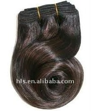 indian remy Human hair handtied weft extasion hair weaving