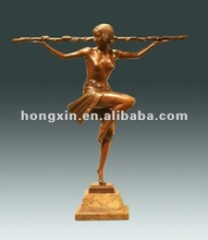EP-065 antique statue nude sculpture girl sculpture