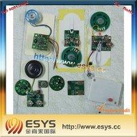 Light sensor sound speaker