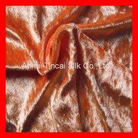 Knitted Polyester Panne Velvet