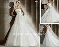 2014 ; ; grátis frete Designer árabe Applique vestido de noiva Catheral