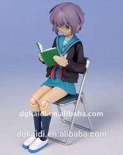 3D lovely hot JK girl anime figures crafts toy