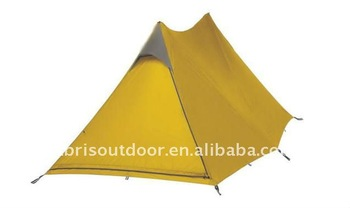 1-2 Man Aluminum pole ultra light weight hiking tents for camping