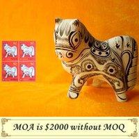 Clay Sculpture Horse