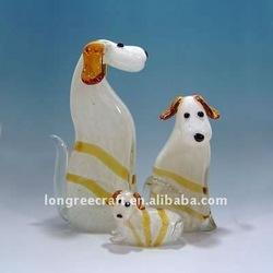 European Style Miniature Glass Figurines