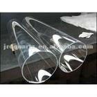Clear Clean Large Diameter Quartz Glass Tubes