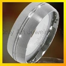 popular gift for men fashion tungsten ring with fast delivery paypal accepeted
