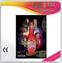 hot new ad product---e-paper ad display / el colorful ad display
