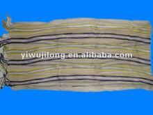 2012 NEW Style HOT wrinkle Scarf Shawl,striped pattern pashmina scarf