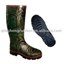 Camo. Rubber Wellington Boot