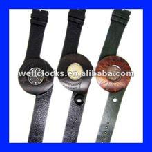 Latest design women wooden wrist watch