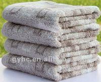 yarn dyed unique bath towel pattern