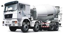 HOWO white concrete mixers truck