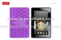 skin cover for Kindle Fire with Holder in Back