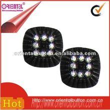 decorative clear acrylic crystal button