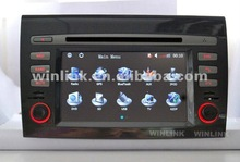 7 Inch 2 Din Car GPS Navigation For FIAT Bravo With Car DVD Radio Bluetooth IPOD