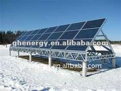 Polycrystalline Silicon Solar Modules Solar Panels 130w with 156*156mm