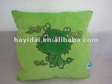 Plush dragon pillow