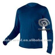 Men's thermal merino wool underwear