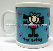 fairy girl pvc mug