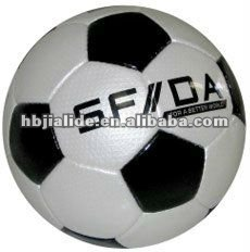 professional machine stitched PVC soccer ball
