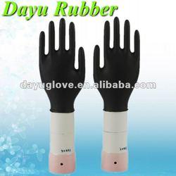 9'' , 4.5mil Black Nitrile Industrial Glove, Powder-Free
