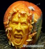 Pumpkin Sculpture of Amusement Park Cartoon Character
