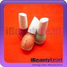 Laushine 15 ml buen diseño agrietada esmalte de uñas