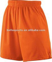 2012 Fashion Customized Womens Tricot Mesh Softball Short
