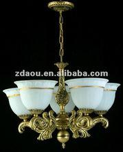 Euro copper brass pendant lamp