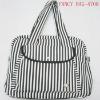 fashion canvas strap handle bag
