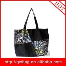 2013 new cotton polyester print fabric bag